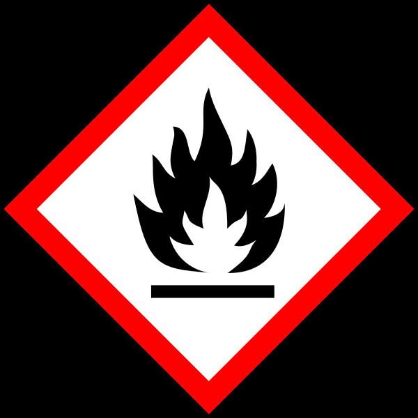 GHS02 - hořlavé látky