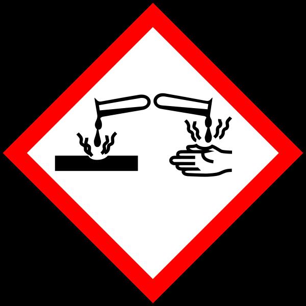 GHS05 - korozivní a žíravé látky